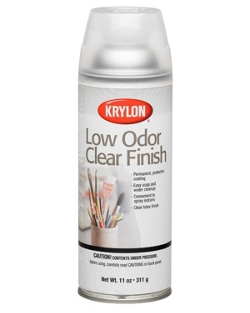 Low Odor Clear Finish