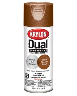 Dual® Superbond® Paint + Primer Hammered Finish