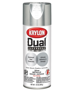 Dual® Superbond® Paint + Primer Metallic Finish