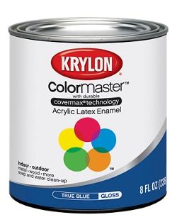 Colormaster acrylic latex enamel half pint krylon for 100 acrylic latex paint