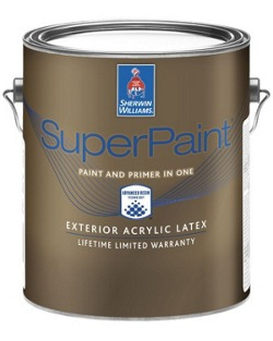 SuperPaint® Exterior Acrylic Latex Paint - Sherwin-Williams