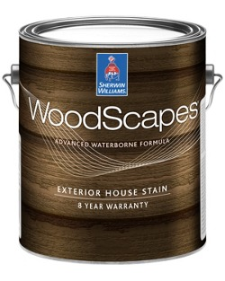 WoodScapes® Exterior Acrylic Solid Color House Stain - Sherwin ...