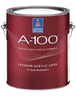 A-100® Exterior Acrylic Latex Paint - Sherwin-Williams