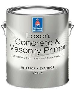 Loxon® Concrete & Masonry Primer - Sherwin-Williams