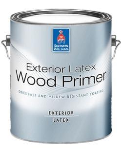 Exterior Latex Wood Primer - Sherwin-Williams