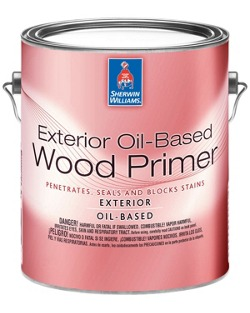 Exterior Oil-Based Wood Primer - Sherwin-Williams