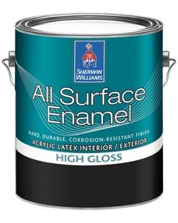All Surface Enamel Latex Base Sherwin Williams