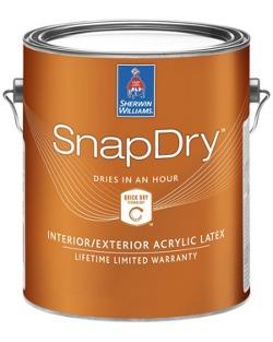 SnapDry™ Semi-Gloss Door &
