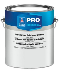 Pro Industrial Water Based Alkyd Urethane - Sherwin-Williams