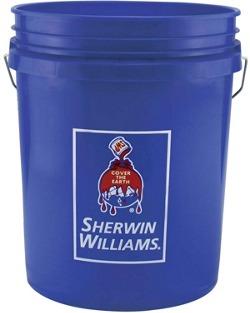 Plastic Pail - 5 Gallon - Sherwin-Williams