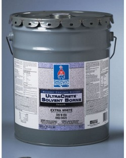 Protective concrete coatings waterproofers sherwin - Sherwin williams exterior textured paint ...