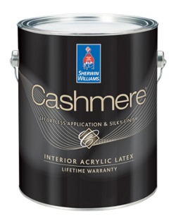 Sherwin Williams Cashmere interior paint