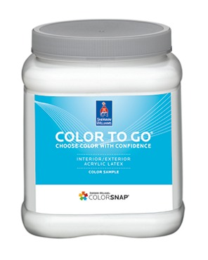 Color To Go Paint Sample