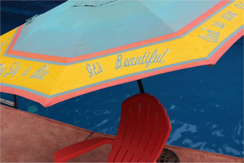 Patio Umbrella Outdoor Furniture Spray Paint Projects