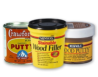 wood putty and wood filler
