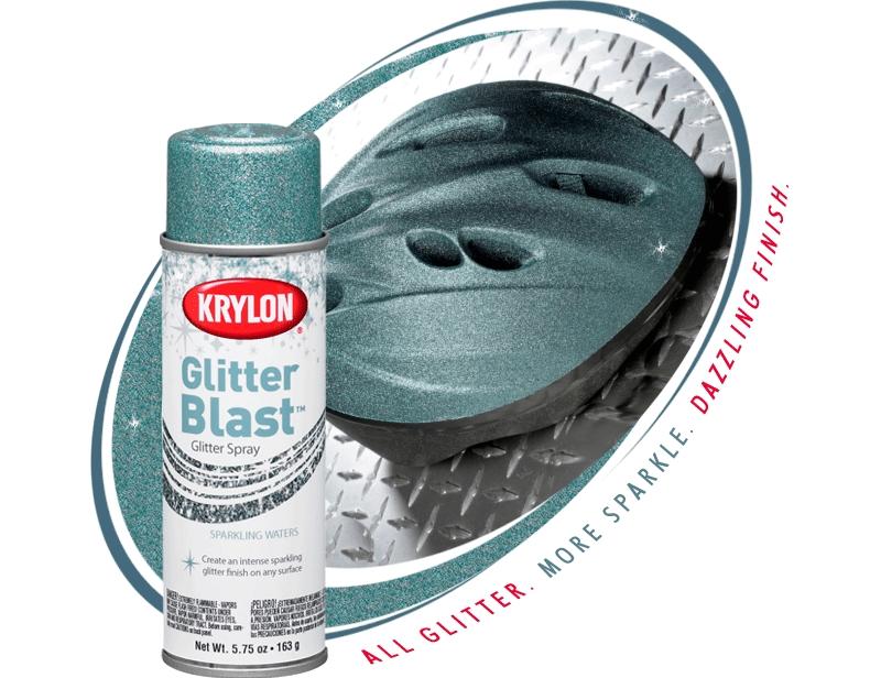 Krylon Glitter Blast Glitter Spray Paint | Krylon