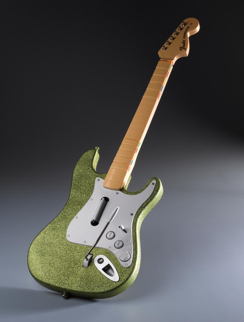 rockstar glitter guitar controller project spray paint projects krylon. Black Bedroom Furniture Sets. Home Design Ideas